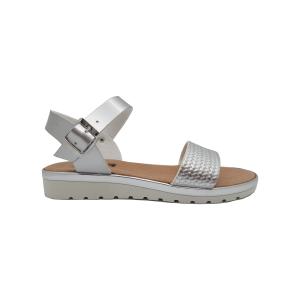 Srebrne ženske sandale 7750