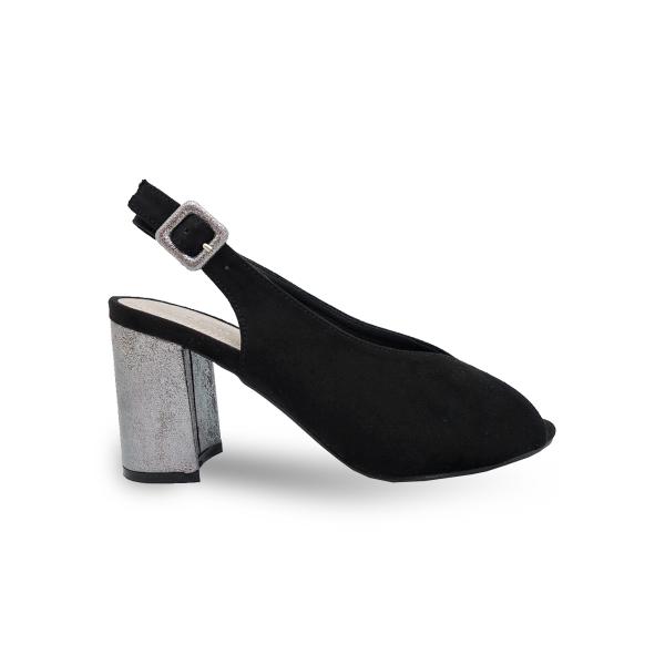 Crne sandale LS772007