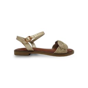 Zlatne ženske sandale CA466