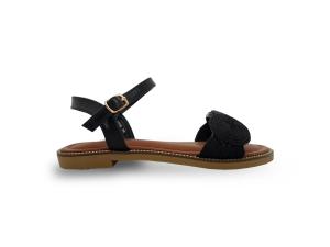 Crne ženske sandale CA466