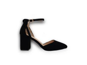 Crne sandale na petu C125