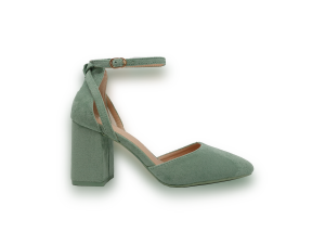 Zelene sandale na petu C125